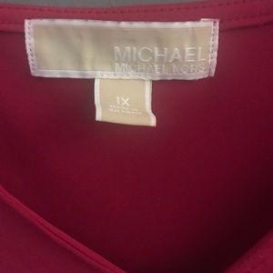 Michael Kors Tops - Michael Kors pink 1X TUNIC plus size